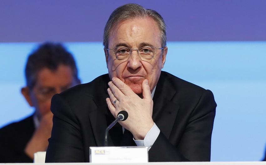 Real Madridin prezidenti qışda Mbappeni ala biləcəklərini açıqlayıb