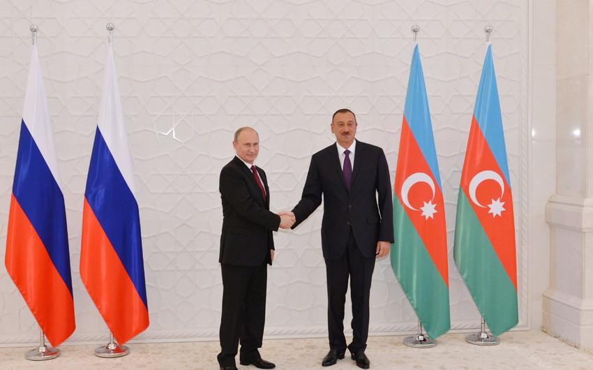 Vladimir Putin Azərbaycan Prezidentini təbrik edib
