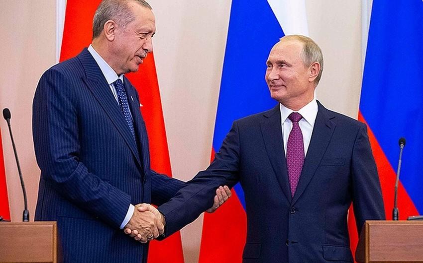 Путин обсудил с Эрдоганом сирийский кризис