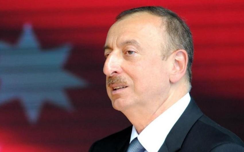 Prezident İlham Əliyev Qran-Prinin final yarışına baxıb