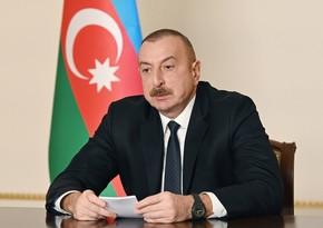 Azərbaycan Prezidenti Ermənistanın müharibəyə səbəb olan təxribatçı addımlarından danışıb