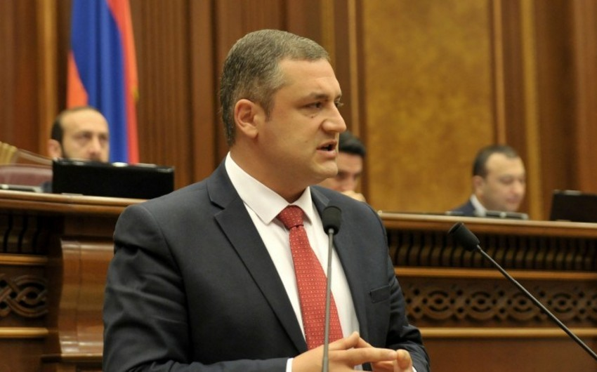 Erməni deputat: Ölkəmizdə fəlakət artıq qarşısıalınmaz xarakter daşıyır