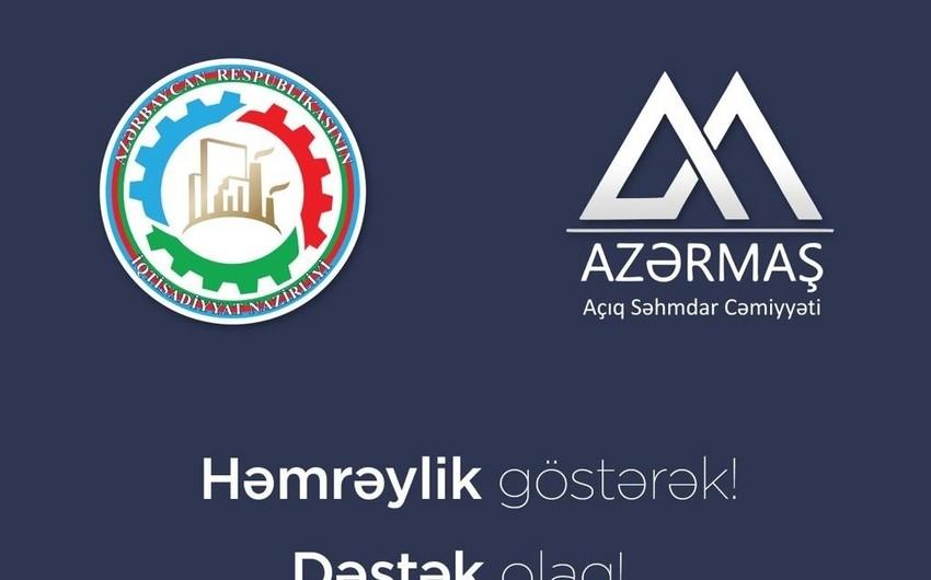 """İqtisadiyyat Nazirliyi və """"Azərmaş"""" ASC-dən yeni sosial təşəbbüs"""