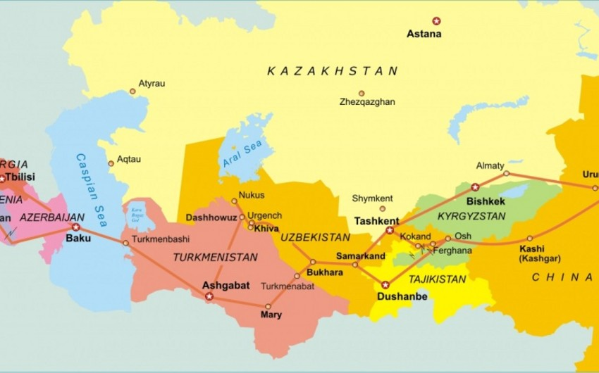 Tourist package The Modern Silk Road presented in Baku