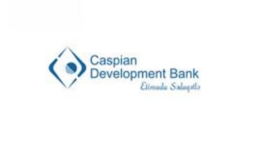 Caspian Development Bank ilin birinci yarısında 5,6 mln manat mənfəət əldə edib