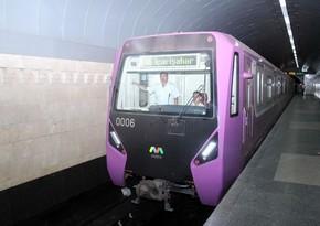 В Баку отправлены новые поезда метро российского производства