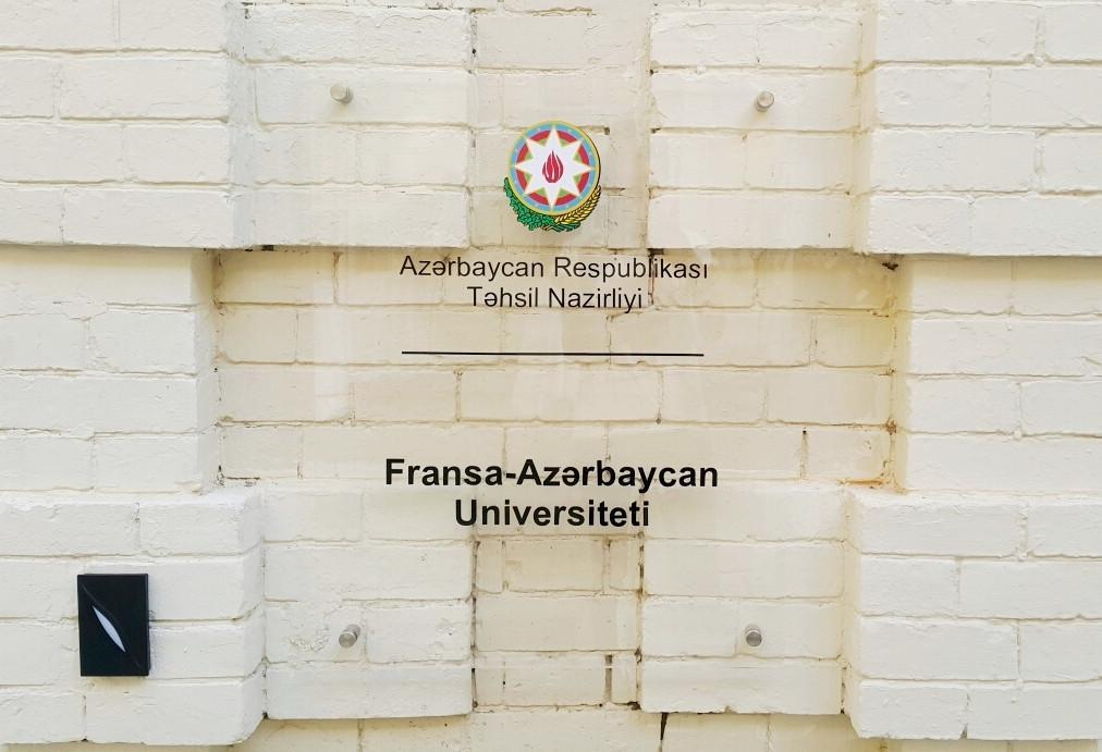 Fransa-Azərbaycan Universiteti ADNSU-nun 3-cü tədris korpusuna köçürüləcək
