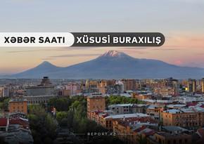 """""""Xəbər Saatı"""": İrəvanın mərkəzində Azərbaycanın Dövlət himni səsləndi"""