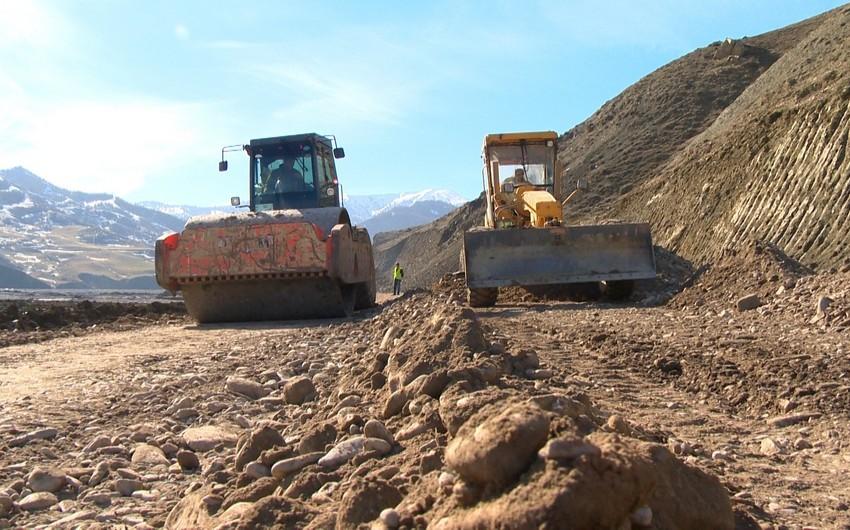 Quba-Qonaqkənd avtomobil yolunda yeni körpülər inşa edilib - FOTO