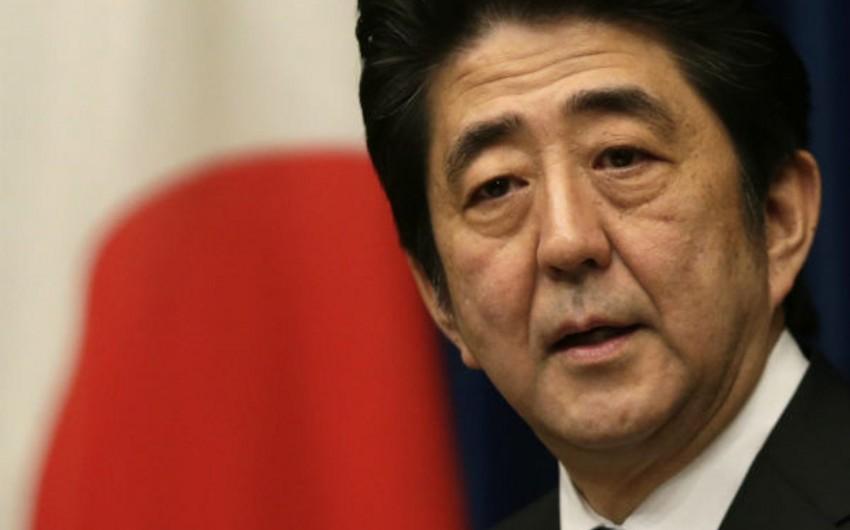 Yaponiyanın baş naziri yenə Sindzo Abe olub