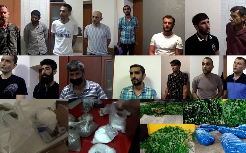 Narkotik satışı ilə məşğul olan şəbəkənin daha 15 üzvü saxlanılıb