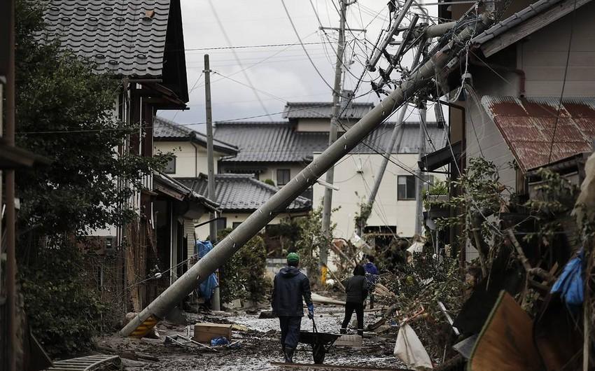 """Число жертв тайфуна """"Хагибис"""" в Японии возросло до 74"""