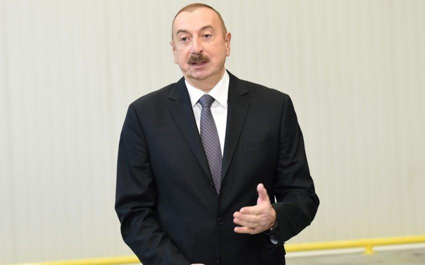 Azərbaycan Prezidenti: Struktur islahatları, siyasi, iqtisadi islahatlar və şəffaflıq ölkəyə böyük faydalar gətirir