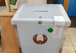 Belarusda seçicilərin 79%-i seçkilərdə iştirak edib