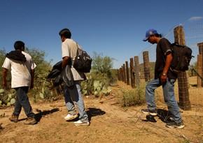 ABŞ-Meksika sərhədində 2 mindən artıq miqrant toplaşıb