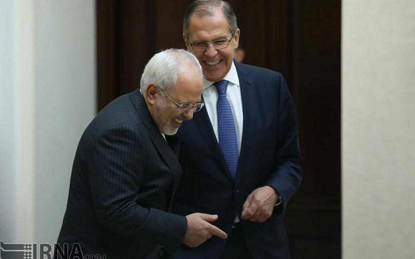 Russian and Iranian FMs discuss preparations for Caspian Summit