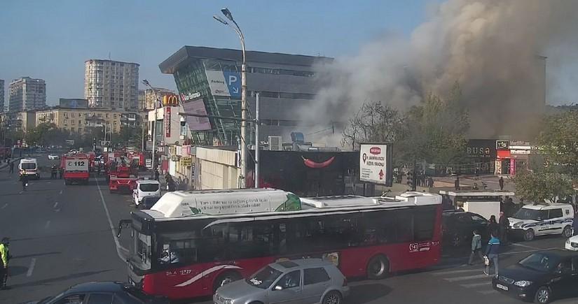 BNA: Heydər Əliyev prospektindənAğa Nemətulla küçəsinə giriş məhdudlaşdırılıb