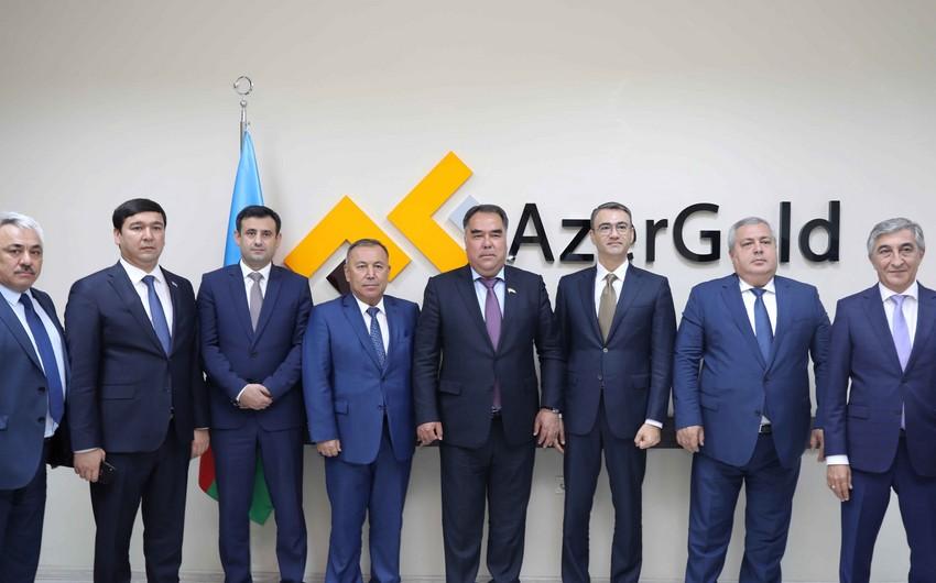 """""""AzerGold""""la Tacikistan arasında əməkdaşlıq perspektivləri müzakirə edilib"""