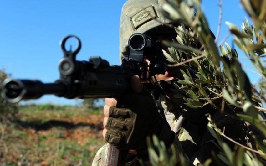Türkiyə hərbçiləri Suriyada terrorçuları zərərsizləşdirib