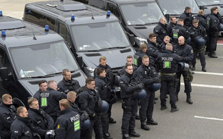 В Берлине фермеры проводят акцию протеста, полиция перекрыла центр