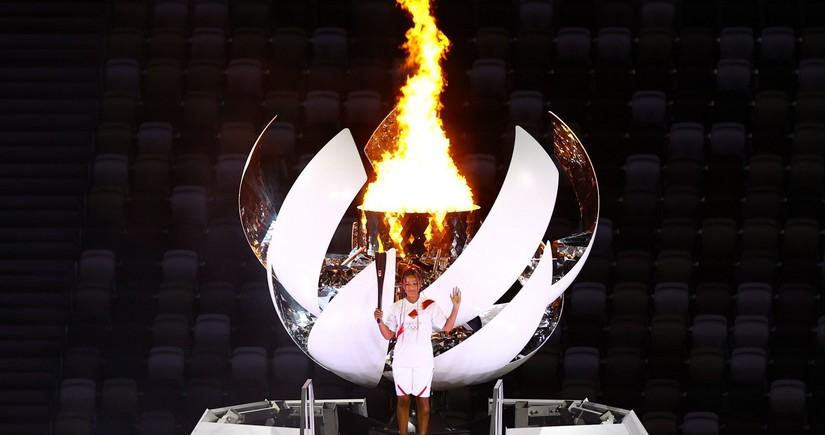 Tokio olimpiadasının məşəli alovlandırıldı - YENİLƏNİB - 2