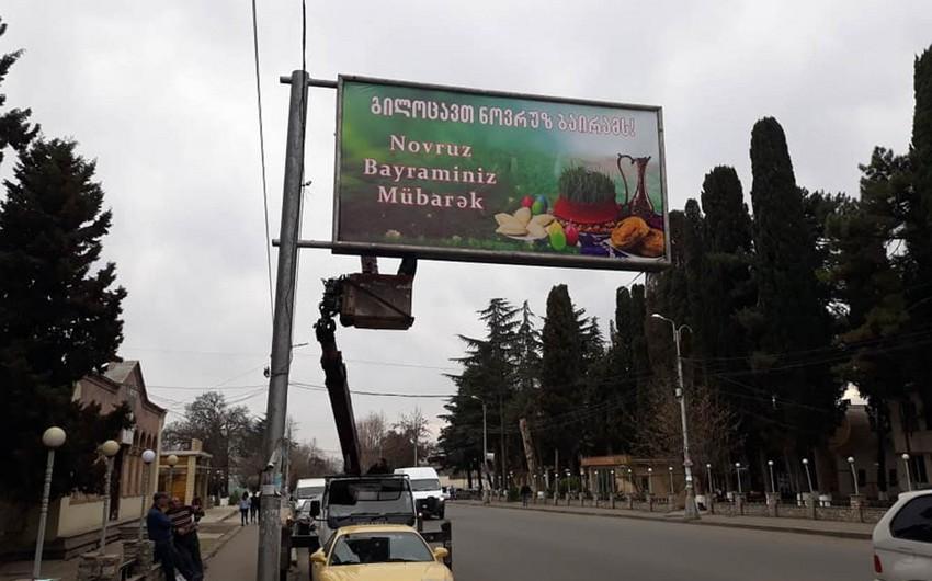 Gürcüstanda Novruz bayramı ilə bağlı təbrik azərbaycanlıların narazılığına səbəb olub