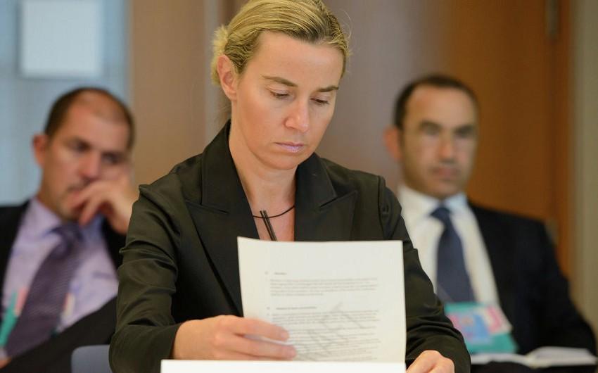 Federika Mogerini: Gürcüstan və Ukrayna ilə viza rejiminin qısa müddətdə ləğvinə ümid edirik