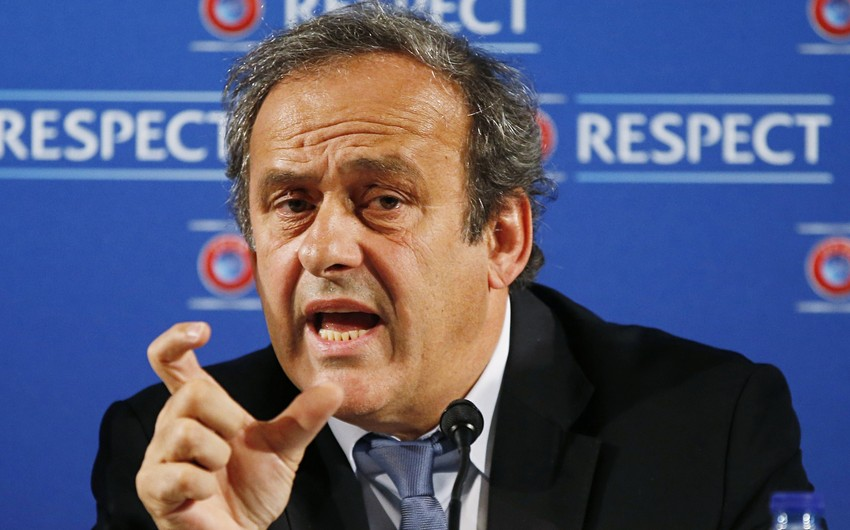UEFA's Platini officially announces plans to run for FIFA presidency