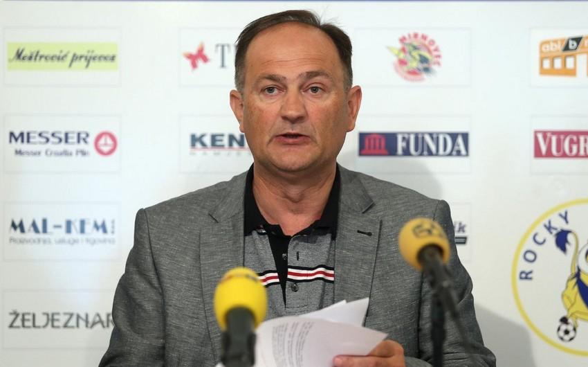 Xorvatiya Futbol İttifaqı millimizin matçından pul qazanacaq -