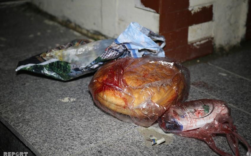 На Абшероне сын несколько раз ударил мать ножом за то, что та не дала денег - ФОТО