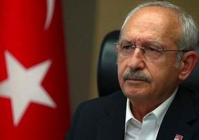 Kamal KılıçdaroğluPrezident İlham Əliyevə məktub göndərib