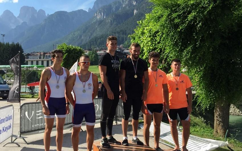 Azərbaycanın kayak və kanoeçiləri İtaliyada 12 medal qazanıblar