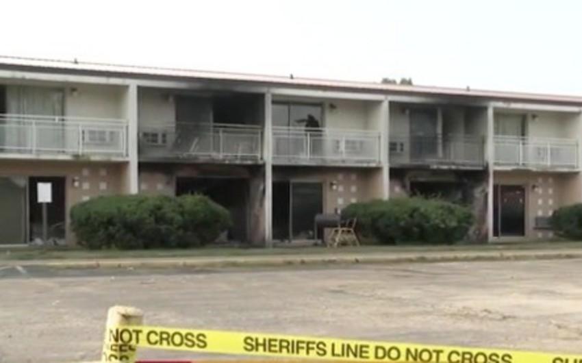В США при пожаре в мотеле погибли женщина и пять её детей