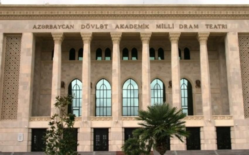 Akademik Milli Dram Teatrı mövsümə yekun vurur