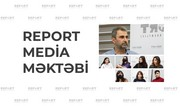 Report Media Məktəbində yeni təlim proqramına start verilib