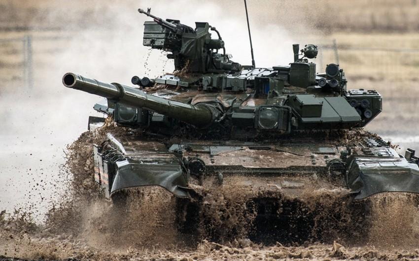 Bu il Rusiya Quru Qoşunları 240-dan çox yeni tank alacaq