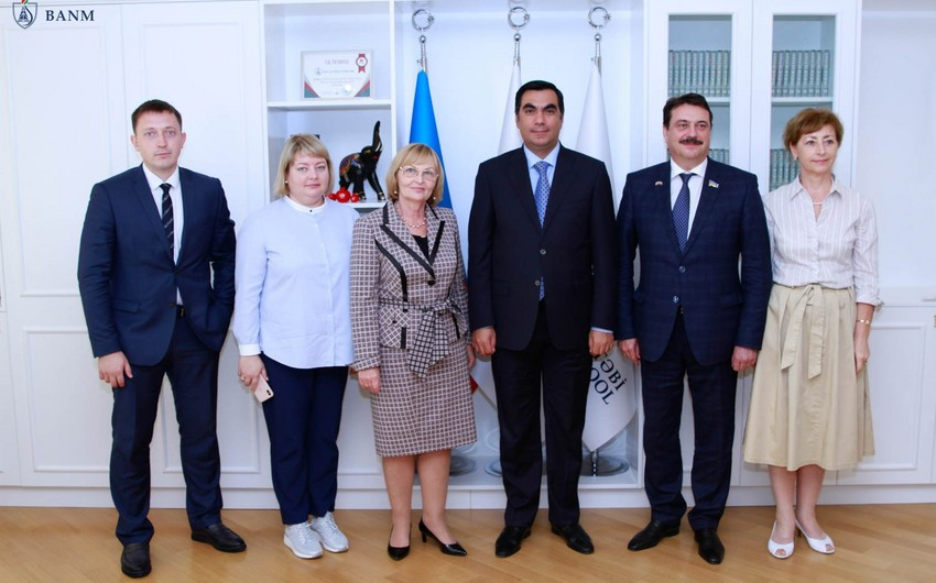 Baku Higher Oil School, Yugra State University discuss cooperation