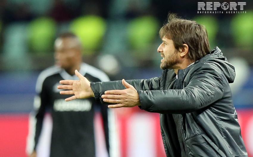 Antonio Konte: Qarabağla oyundan öncə futbolçularıma çox diqqətli olmağı tapşırdım