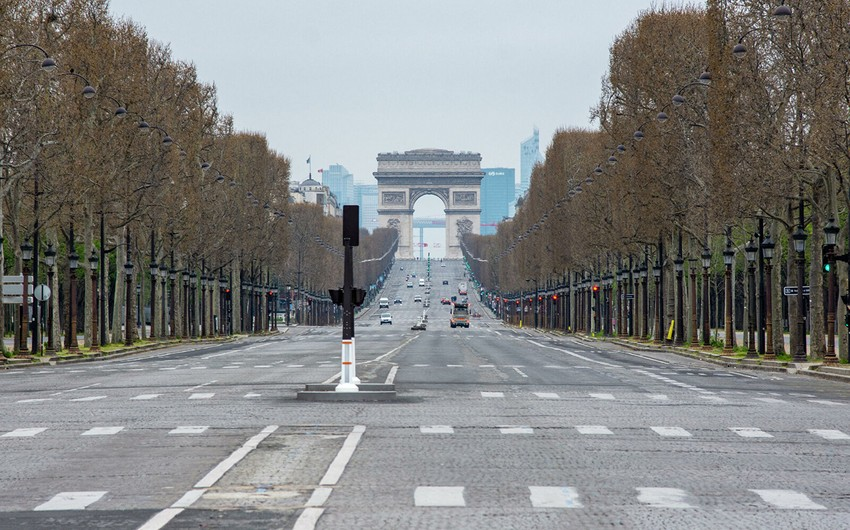 Parisdə 110-dan çox insan şənlikdə iştiraka görə cərimələnib