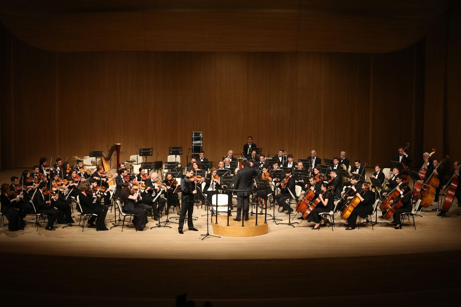 Heydar Aliyev Center hosted classical music evening