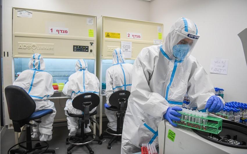 İsraildə bir gündə 1641 nəfər koronavirusa yoluxub