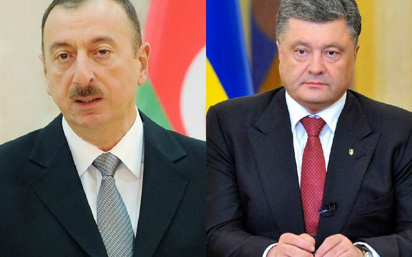 Президенты Азербайджана и Украины обсудили вызовы нацбезопасности
