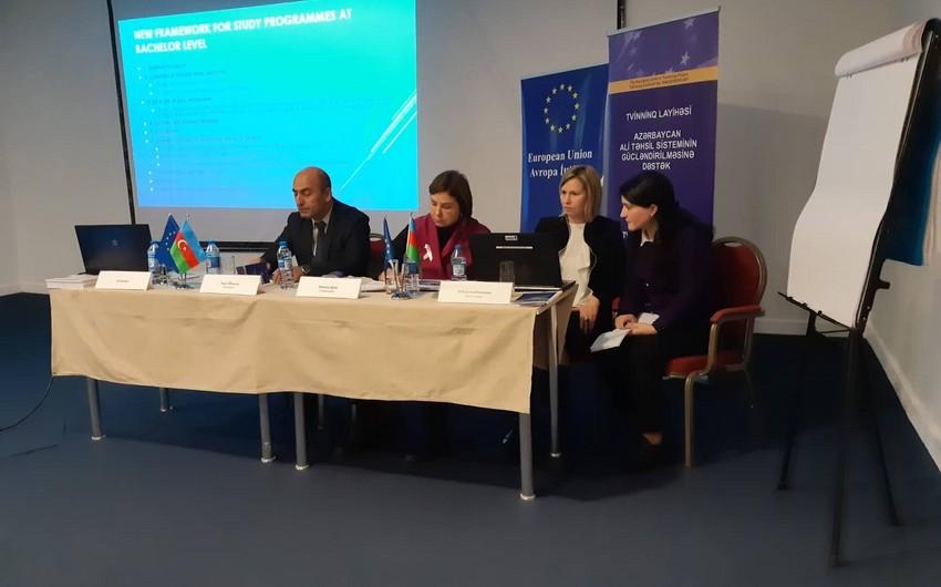 Координатор твининг-проекта: В Азербайджане необходимо пересмотреть госстандарты по учебным программам вузов