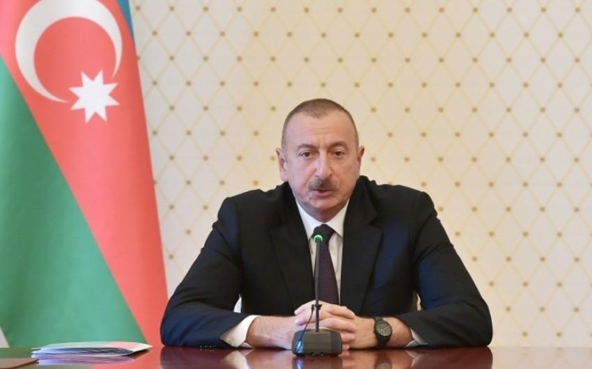 """Dövlət başçısı: """"Prezident kimi ilk dəfə Naftalana gələndə ürəyim ağrıdı"""""""