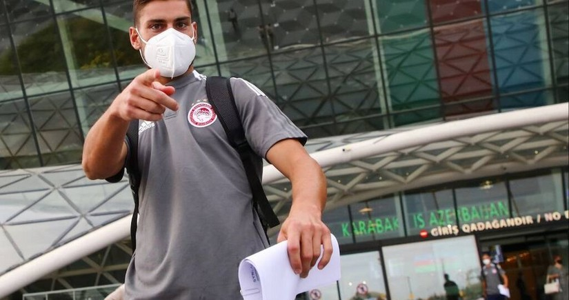 Olympiacos to play return match with  Neftchi