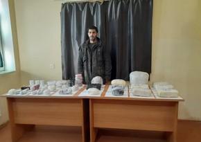 İrandan Azərbaycana narkotik gətirilməsinin qarşısı alınıb
