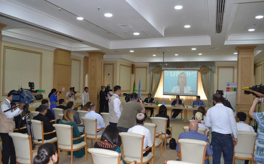 Representation of UN Office for Project Services starts its work in Turkmenistan