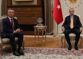 Реджеп Тайип Эрдоган и Йенс Столтенберг провели переговоры