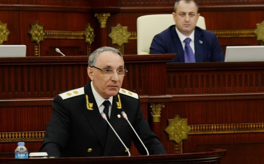 Kamran Əliyev parlamentdə çıxış etdi