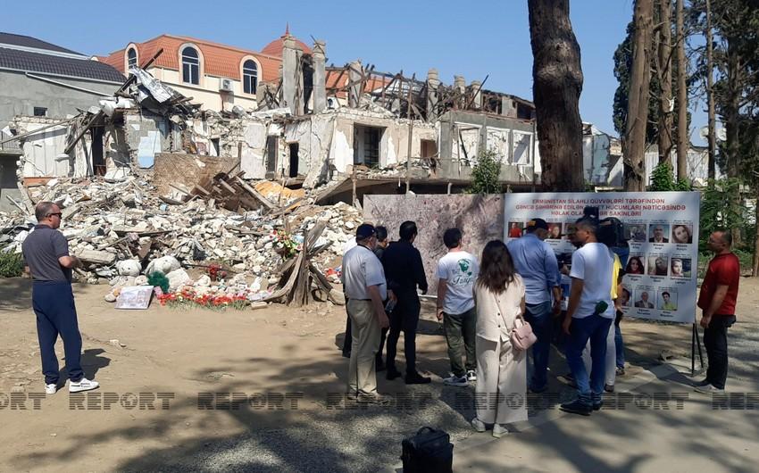 Группа журналистов из Латинской Америки посетила Гянджу